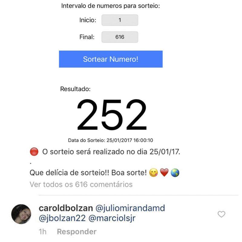 instagram-sorteio